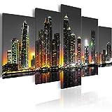 murando - Acrylglasbild New York 200x100 cm - 5 Teilig - Bilder Wandbild - modern - Decoration d-C-0024-k-p