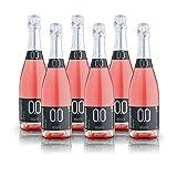 alternativa - Espumoso Rosado Extra-Dry - 0.0% vol (Caja de 6 botellas 750ml)