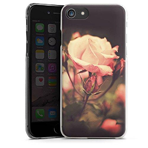 Apple iPhone X Silikon Hülle Case Schutzhülle Rosenblüten Blumen Pflanze Hard Case transparent