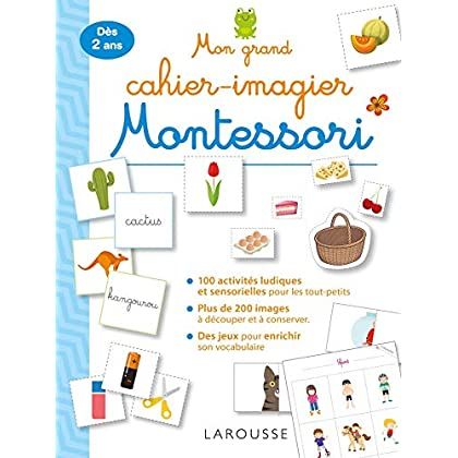 Mon grand cahier Montessori des premiers mots