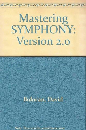Mastering SYMPHONY: Version 2.0 por David Bolocan
