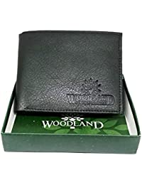 [Sponsored]Woodland Men Black Genuine Leather Wallet- Homeboy