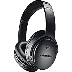 Bose QuietComfort 35 (Series II) Wireless Headphones, Noise Canceling, with Alexa Voice Control, Black