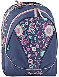 Sac à dos 43cm Caméléon 2 compartiments - Idéal pour la rentrée scolaire en classe de CM1 ou CM2 - Fille et garçon - Existe en 4 coloris