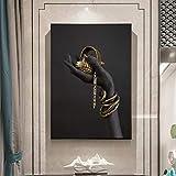Wieoc Modulare Bilder Wandkunstwerk Leinwand Hd Gedruckt Hand Malerei Moderne 1 Panel Dekoration Abbildung Poster Wohnzimmer Gerahmte 60X85 cm