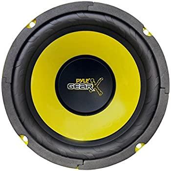 Pyle gear pLG64 midbass caisson de basses-enceinte 300 w env. 16,5 cm - 1 pièce