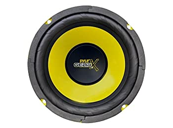 Pyle Gear PLG64 300W 6.5 inch Mid Bass Woofer Driver Single