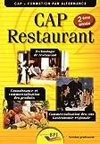 CAP Restaurant 2ème année - professeur...