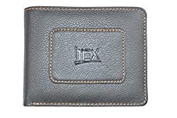 Imex Mens Modish Black Genuine Leather Wallet