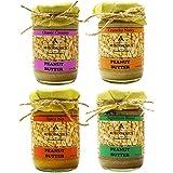 Auroganics Peanut Butter (140 Gm Each *Pack Of 4)