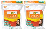 Tulips Cotton Balls 50s Pack of 2