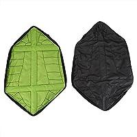 1 Par Cubrezapatos, Overshoes Cubierta de Zapatos Reutilizables, Cubrecalzados Impermeable, Fundas de Zapatos Reutilizables Lavables Antideslizantes para el Hogar (Green)