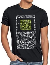 style3 8-Bit Game T-Shirt Herren pixel boy