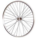 Taylor Wheels 26 pollici ruota anteriore bici mozzo Nirosta 559-21 argento