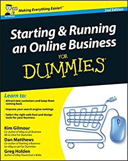 Starting an online clothing store for dummies