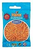 Hama Mini-Bügelperlen 2000 im Beutel Teddybären-braun