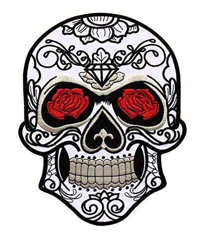 Parche Calavera Rosa Cráneo Biker - 24