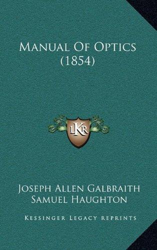 Manual of Optics (1854)