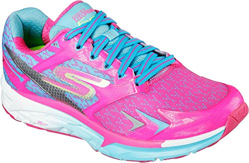SkechersGo Run Forza - Scarpe Running Donna Hot Pink/Blue