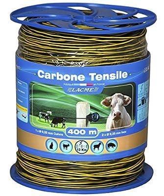 Weidezaun Litze CARBONE TENSILE 400m von Lacme bei Du und dein Garten