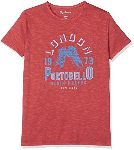 Pepe Jeans Jungen T-Shirt Fancy Teen, Mehrfarbig (Jam), Medium (Jeans-jungen-shirt)