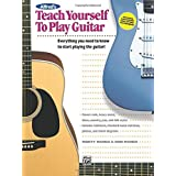 Alfred's Teach Yourself to Play Guitar: Book & Enhanced CD [With CD] by Ron Manus (2006-08-24)