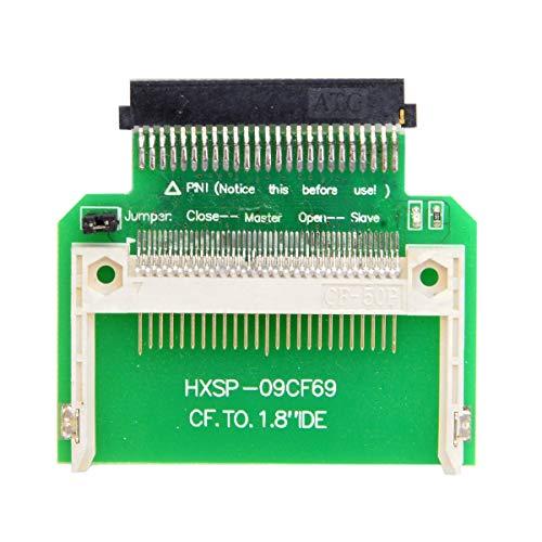 CY CF Kompakt-Flash-Speicherkarte auf 50pin, 1,8 Zoll IDE-Festplatte, SSD Umsetzer, Adapter für Toshiba von CY -