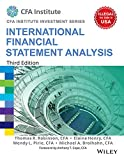 International Financial Statement Analysis, 3ed (CFA Institute Investment Series)