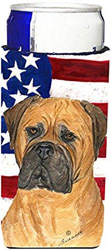 michelob-con-bandiera-americana-bullmastiff-ss4001muk-koozies-ultra-sottile-per-lattine-slim-can-mul