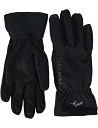 Sealskinz Womens Sea Leopard Glove Black