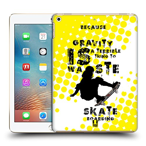 Head Case Designs Skateboarding Extremsportarten Ruckseite Hülle für iPad 9.7 2017/iPad 9.7 2018