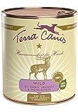 Terra Canis Classic Wild mit Kürbis, Preiselbeeren und Vollkornnudeln, 6er Pack (6 x 800 g)