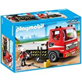 Playmobil City Action 5283 - Jeu de construction - Le camion de chantier