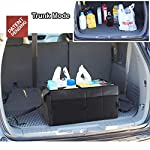 Drive Auto Products Car Organiser (Black) - Storage with Tie Down Straps, Best for Tidy Auto Organization & Boot… 10