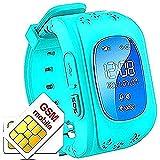 Hangang GPS Tracker Niños Safe Smartwatch Sos Llamadas Localizador de localización de localizador...
