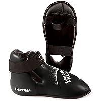 GREEN HILL Panther - Protectores de pie Unisex, Color Negro, Talla L