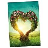 Homyl 1000 Teile Puzzles -Landschaften - Herz der Liebe
