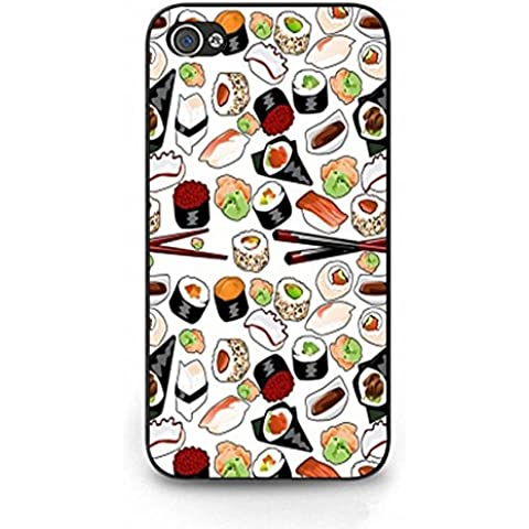 Sweet Iphone 4 4s Phone Cover Shell Unique Pattern Design Dessert Sushi Phone Case Cover for Iphone 4 4s