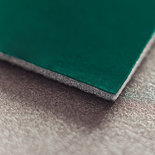 Noico Grün 4,5 mm 1,7 qm Wasserdichte Schalldämmung des Autos, Selbstklebender geschlossenzelliger Polyethylenschaum, Geräusch-, Lärm- und Schallschutz Dämmmatte, Fahrzeug/Auto Dämmung und Isolierung - Schallisolierung Auto