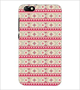 PrintDhaba Pattern D-5212 Back Case Cover for HUAWEI HONOR 4X (Multi-Coloured)