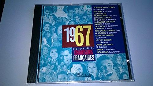 Les plus belles chansons françaises 1967 CD -