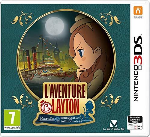 L'Aventure Layton: Katrielle et la conspiration des...