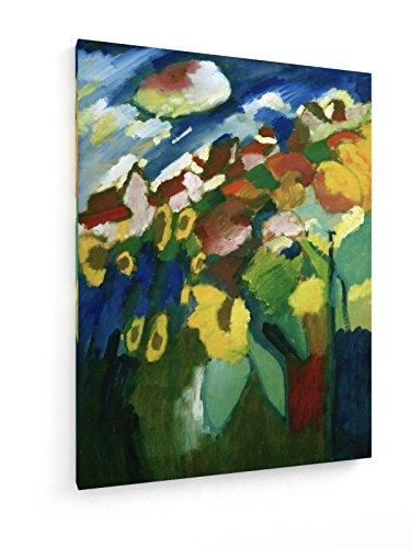 Wassily Kandinsky - Murnau - Garten II 1910 - 45x60 cm - weewado - Belle stampe d