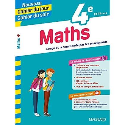 Cahier du jour/Cahier du soir Maths 4e