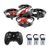 Holy Stone HS210 Mini Drone enfant débutant Hélicoptère Radiocommandé avec Maintien de L'altitude, 3D Flip, Mode sans Tête, 3*Batteries Lipo, Avion Mini Télécommande, Jouet Cadeau pour Garçon et Fille