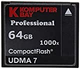 Komputerbay 2 PACK - 64GB Professionelle Compact Flash-Karte CF-1000X 155 MB