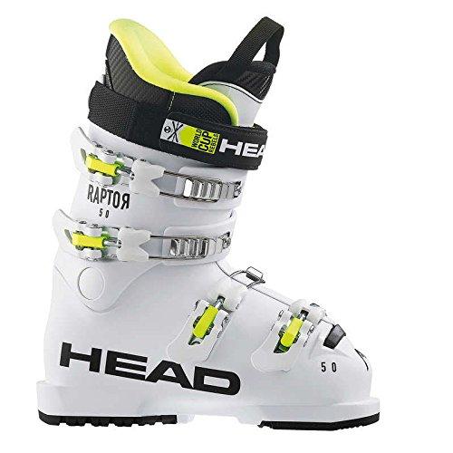 """HEAD Kids Skischuhe Raptor 50"""" Weiss (100) 22"""