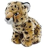 Teddys Rothenburg Kuscheltier Gepardenbaby 32 cm sitzend gold/braun Plüschgepard Plüschtier