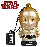 USB Stick 16 GB C-3PO - Speicherstick Memory Stick 2.0 Original Star Wars, Tribe FD007506N