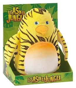jemini 022696 peluche les as de la jungle maurice 23 cm jeux et jouets. Black Bedroom Furniture Sets. Home Design Ideas